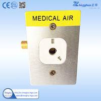 medical gas outlet hospital,medical gas outlet,din standard medical gas outlet,medical oxygen outlet,medical gas terminal unit
