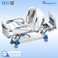Multifunction electric sick bed quick realse for emergency CPR