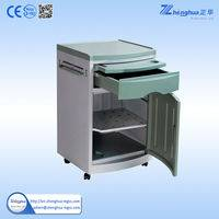 ZHF-BC02 Best quality Hospital Furniture Plastic Bedside locker