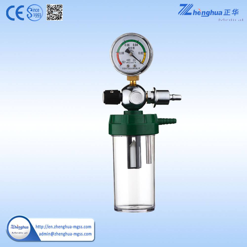 high pressure gas regulator with gauge for high purity gas