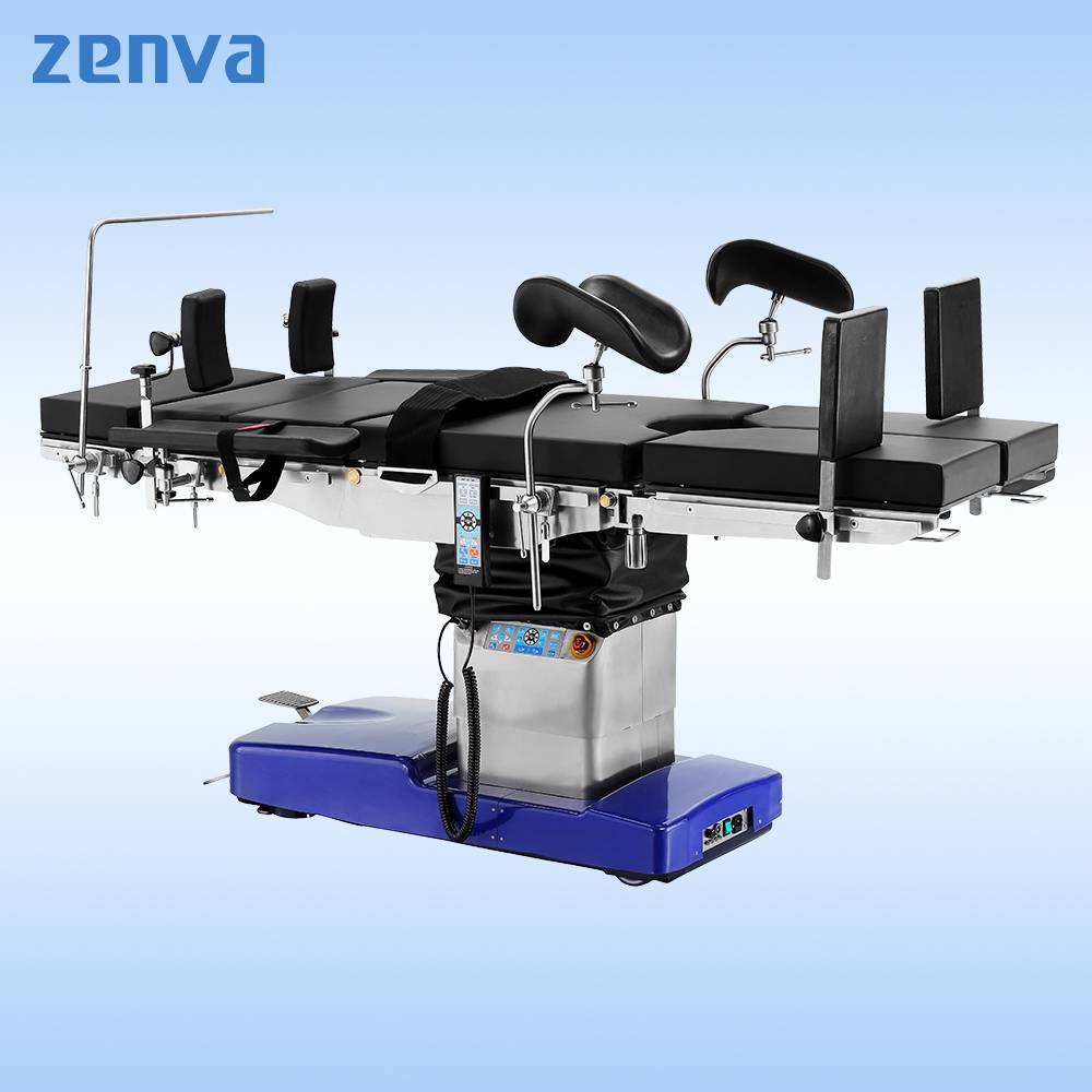 Hospital Medical Equipment Stainless Steel Electric Hydraulic Operating Table