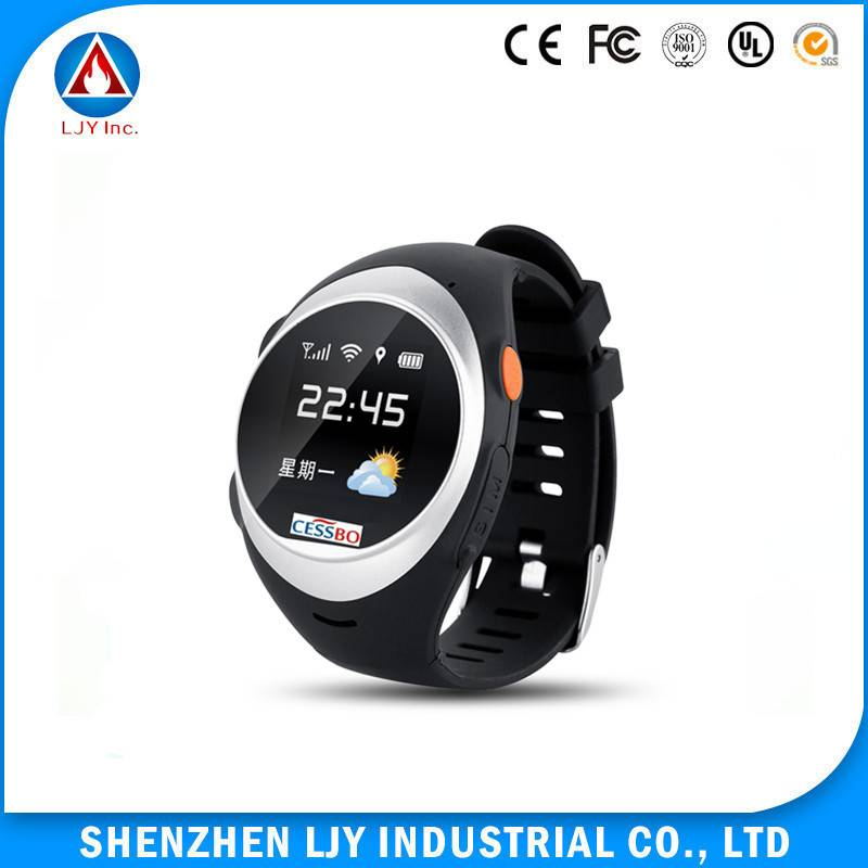2016 best selling products emergency sos panic button smart personal gps adult watch for parents