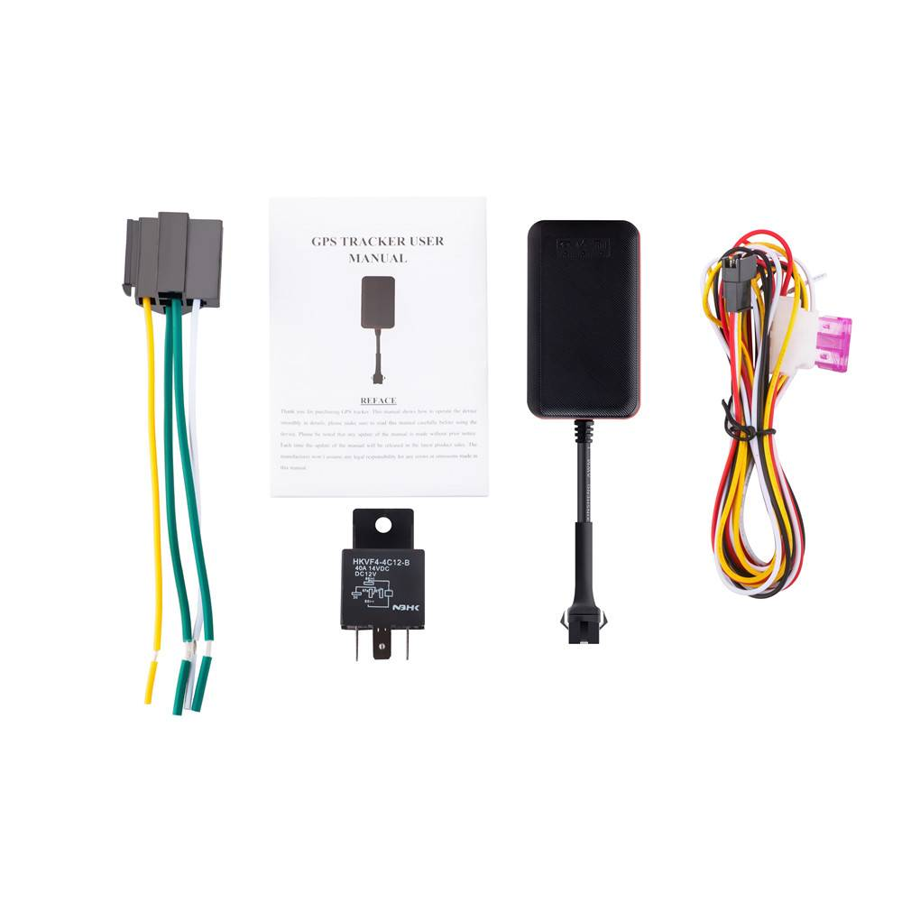 Factory Wholesale IP67 Waterproof GT03 Manual Vehicle GPS Tracker TK108