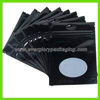aluminium foil zipper bag,black aluminium foil zipper bag,black aluminium foil zipper bag with window,stand up zipper bag