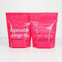 zipper stand up pouches ,disposable syringe tips packaging,zipper pouches