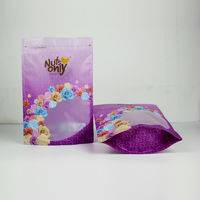 zipper standing bag,nuts packaging bag,standing bag with window