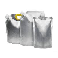 stand up spout pouch,spout pouch,foil spout pouch packaging