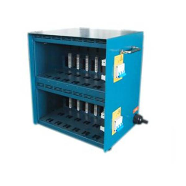 blue color hot runner controllers cabinet