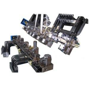 Integrated hot runner system for automotive mould,Sequential valve gate control system