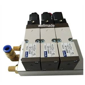 Hot runner solenoid Pneumatic 3ZONE SIE-311 IP series with coil |Hot runner components