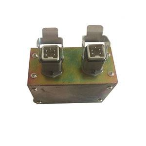 5Pin hot runner connector box IP65 degree of protection|Hot runner parts manufacturer