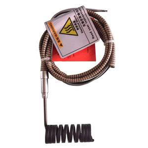 Hot Runner Nozzle Coil Heaters|Electric Heater flat with J or K type thermocouple