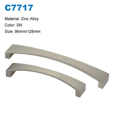 Economic Cabinet Handle Zinc Furniture handle Furniture handles China supplier  C7717