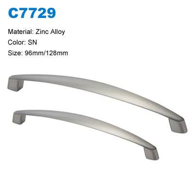 Economic Cabinet Handle Zamak Furniture handle Furniture pull factory  C7729