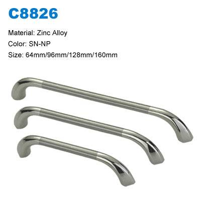 Economic Cabinet Handle Zamak Furniture pull  Furniture door handle factory C8826