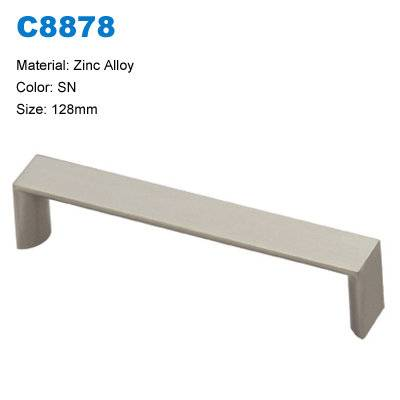 Economic Cabinet Handle Zinc Furniture pull  Furniture handle factory C8878