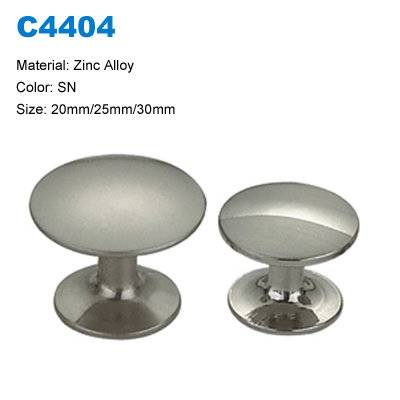 Economic Cabinet handle Zamak Furniture Knob Decorative knob China factory C4404