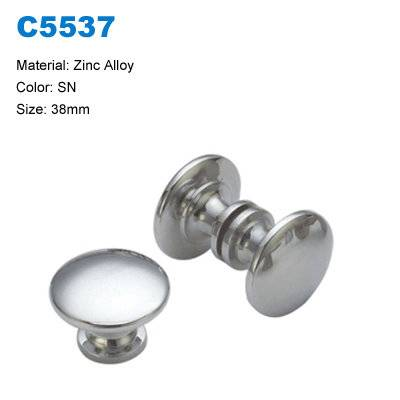 Economic Cabinet Handle Zamak Furniture Knob Decorative Handle factory C5537