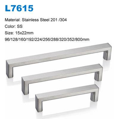 Stainless Steel Cabinet Handle SS Hardware L7615