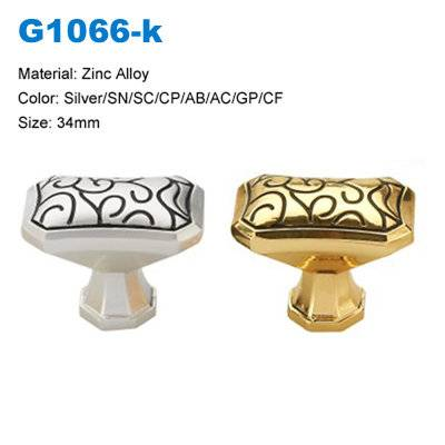 Antique brass Cabinet knob Zamak Furniture Knob Decorative Knob factory Betterbyday hardware G1066K
