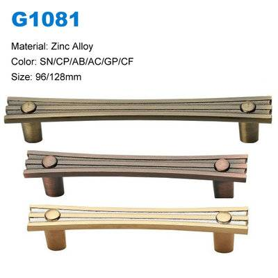 New design Cabinet handle popular zamak Furniture handle  home decorative hardware BBDHOME G1081