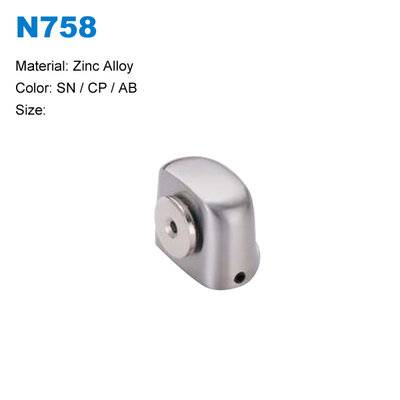 Zamak door stopper with magnetic Strong magnetic door stoper BBDHOME N758