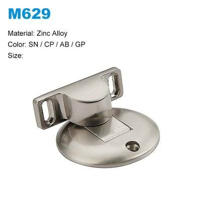 Zinc door stopper Door stopper with magnetic Zamak strong magnetic door stoper supplier/factory M629