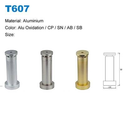 Aluminium door stopper factory Door stopper with magnetic Oxidation Door stoper supplier T607