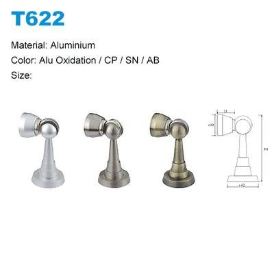 Aluminium door stopper factory Door stopper supplier T622, sliding door stopper