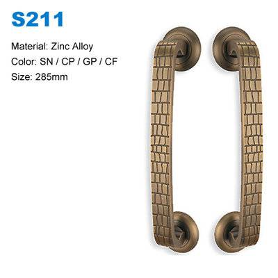 Wooden door pull handle zamak door handle Recessed pull  handle Entrance Handle Door handle S211