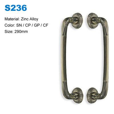 Zinc door pull Wood door pull  Entrance zamak door handle Door pull factory BBDHOME S236
