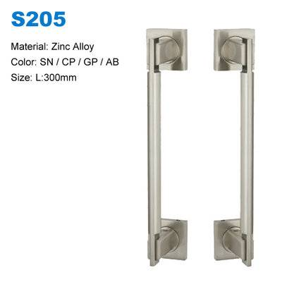 Pull up bar on door frame Decoratvie door handle concealed door pull China supplier S205