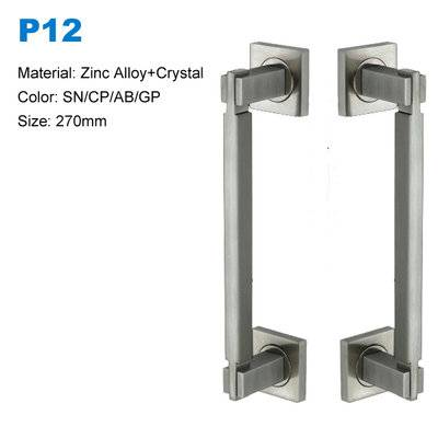 Euro design door pull/recessed door handle zamak door pull handle BETTERBYDAY HARDWARE  P12