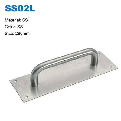 Door pull on panel Rust-proof door pull handle  high quality handle sus304 pull handle  SS02L