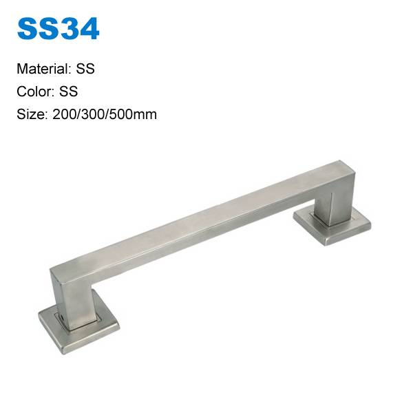 Door pull furniture door handle rust-proof handle stainless steel