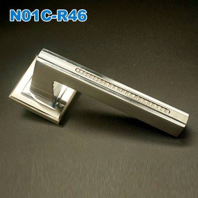 Lever handle/Door handle/mortise lock/rose handle/входные двери  ручки   N01C-R46