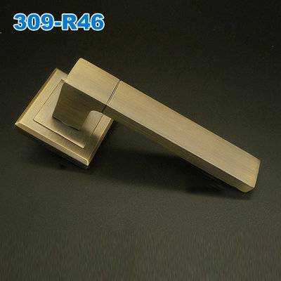 Lever handle/Door handle/mortise lock/interior door handles/двери  ручки     309-R46