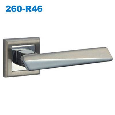 258 door handle/rose handle/rostte handle/entry door hardware/межкомнатные двери   260-R46