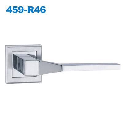 279 door handle/rose handle/rostte handle/door handles uk/дверной замок 459-R46