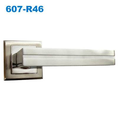 mortice lock/mortise lock/zamak handle/door handle/двери  ручки  607-R46