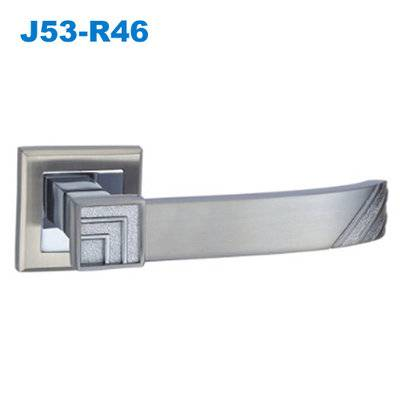 lever door handle/ door handle with lock/door lever/front door handle/стальные двери  J53-R46