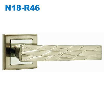 mortice lock/mortise lock/zamak handle/door handle/двери  ручки N18-R46