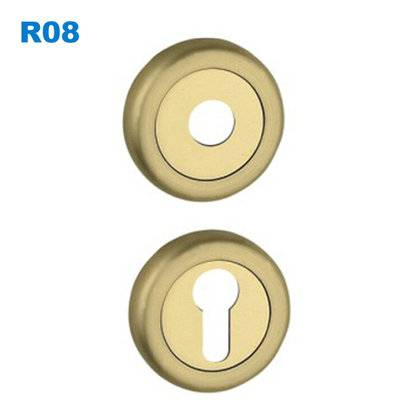 security escutcheon/rosette/lock accessory/ROZETA KWADRATOWA/дверные замки R08