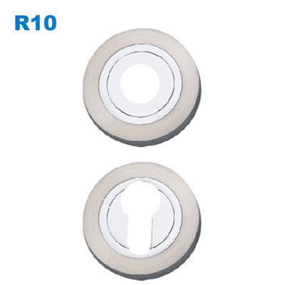 escutcheon/rosette/lever handle fitting/Szyldy drzwiowe/Броненакладки  R10