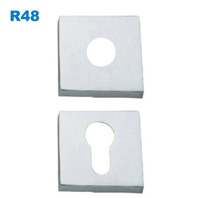 security escutcheon/rosette/lock accessory/Szyldy drzwiowe/Броненакладки, R48
