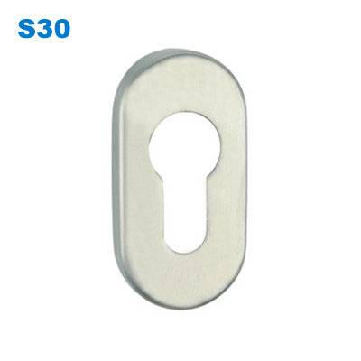 escutcheon/rosette/door handle fitting/Espelhos e Rosetas /Ручка дверная Morelli S30