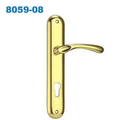 zamakexterior doorhandle/doorhandle lock/plate handle/двери ручки/Parde maçanetas com roseta 8059-08