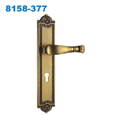 zinc door handle/ plate door handle/door lock/двери входные /Puxadores de Porta 8158-377