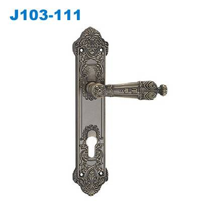door handle/zinc handle/plate door handle/TÜRSCHLÖSSER/Ручки межкомнатные J103-111