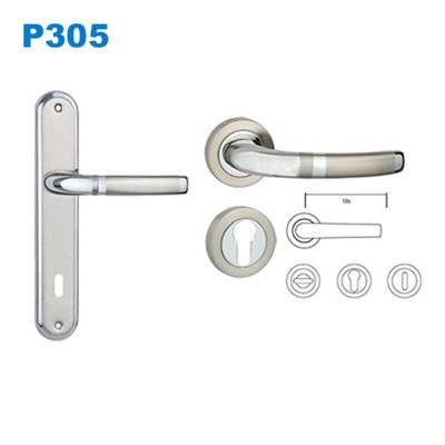 mortice lock/mortise lock/plate door handle/входные двери ручки /Maçanetas Currao P305
